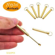 Keys, snuffsnorterspoon, earcleaner, Jewelry