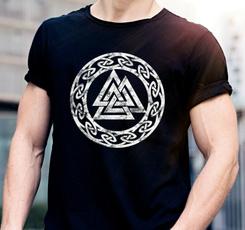 viking, Shirt, norse, Tee