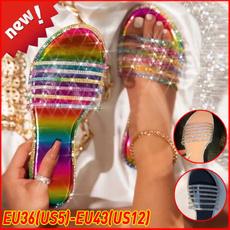 flatwomen, Sandals & Flip Flops, Flip Flops, Plus Size