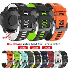 garminfenix6sband, garminfenix3hr, garminfenix5xband, Silicone