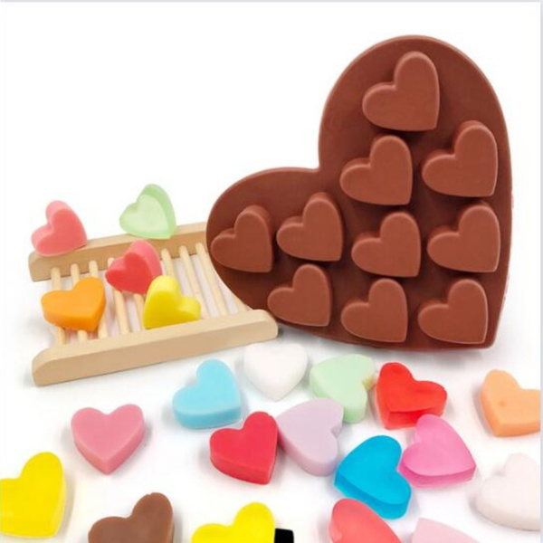 Heart, kitchen tools, candlemakingmold, Soap