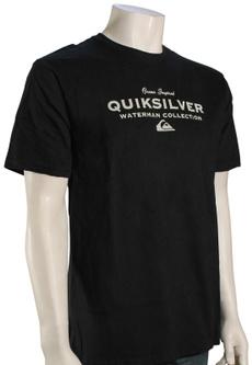 , waterman, T Shirts, quiksilver
