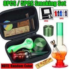 Box, smokingset, tobacco, grindingmachine