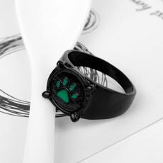 men_rings, black, Fashion, noir
