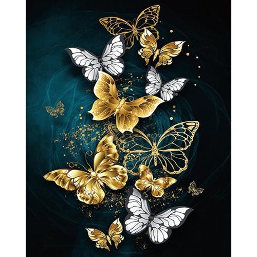 crossstitch, Decor, goldenbutterfly, Jewelry