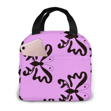 butterfly, Totes, insulatedlunchbox, portablelunchbox