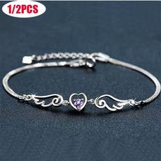 Charm Bracelet, Sterling, Gifts, Angel