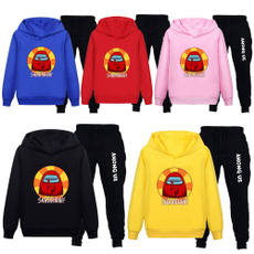 Hoodies, Two-Piece Suits, Spring/Autumn, Sweatshirts