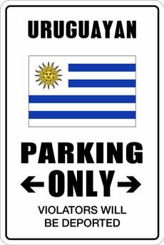 only, uruguayan, Aluminum, parking