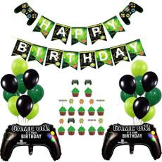 fortniteaccessorie, birthdaypartydecor, black, Balloon