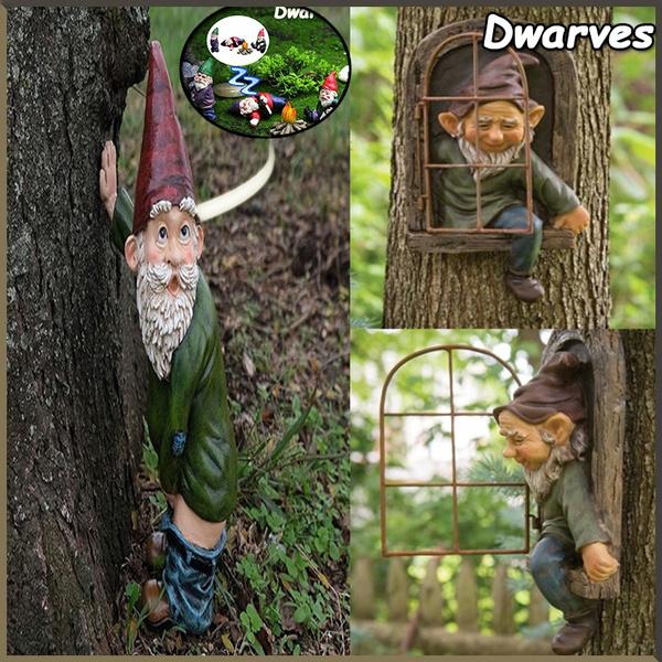 Outdoor, Garden, gnomegarden, Tree