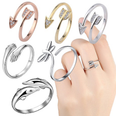 Sterling, Couple Rings, crystal ring, Love