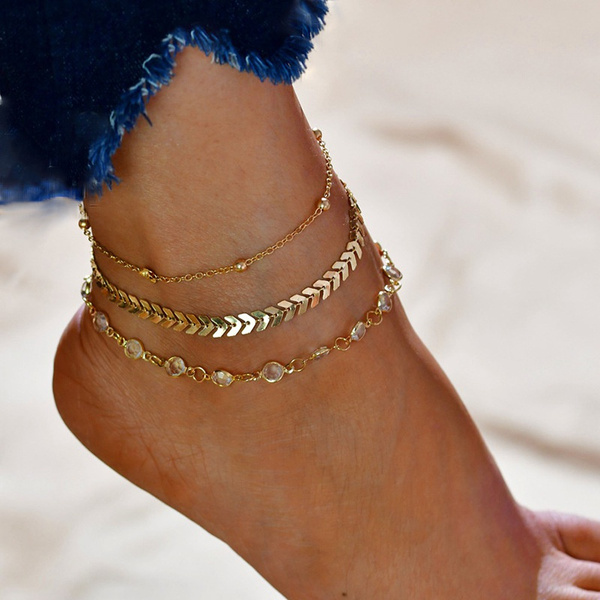Summer, Chain, gold, leaves