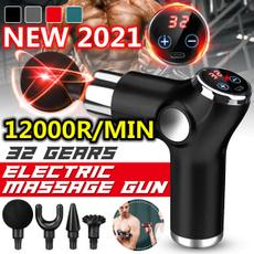 backmassager, Touch Screen, lights, massagergun