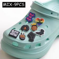 Pvc, black, Shoes, Shoes Accessories