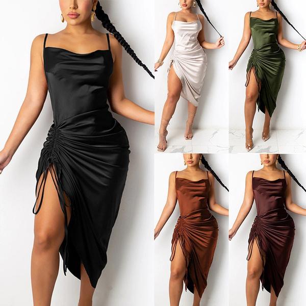 Summer, long skirt, Fashion, Halter