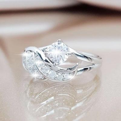 Jewelry, DIAMOND, Romantic, Angel