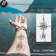 tattoo, Poker, Waterproof, smallfullarmtattoosticker