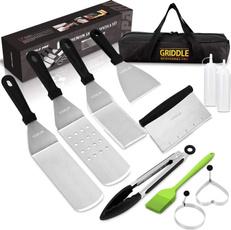 Grill, Dishwasher, spatulasegg, vomelon