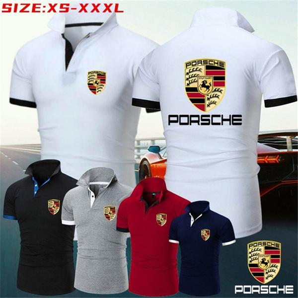 Summer, Plus Size, Golf, Polo Shirts