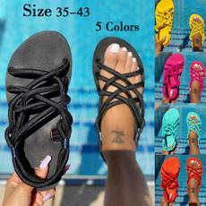 Summer, Head, Fashion, Flats shoes