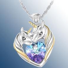 Sterling, crystal pendant, Fashion, Love