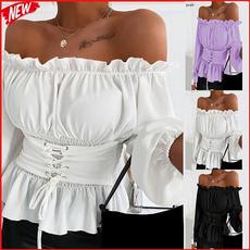 blouse, Plus Size, Shirt, Sleeve