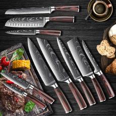 Kitchen & Dining, chefknife8inch, Laser, japaneseknife