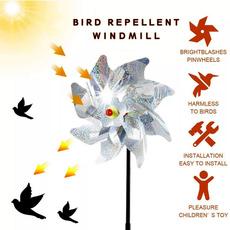 windmill, antibirdswindmill, Garden, Farm