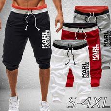 capripantsmen, joggingpant, Beach Shorts, Casual pants