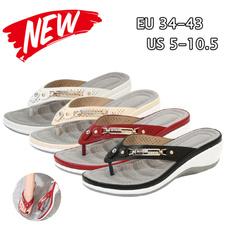 non-slip, wedge, Flip Flops, Sandals