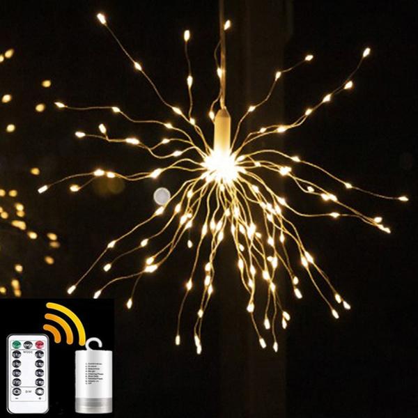 fireworklight, fairylight, fireworklightbulb, ledcopperwirelight