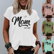 blouse, Summer, Vest, momshirt
