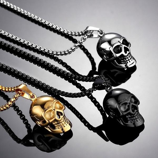 Hip-hop Style, Steel, Fashion, punk necklace
