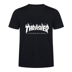 thrashertshirt, Fashion, men's cotton T-shirt, men clothing