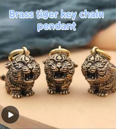 tigerbronzeware, Chain, tigerartware, tigerkeychain