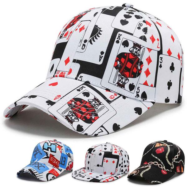 Baseball Hat, Poker, Outdoor, visorhat