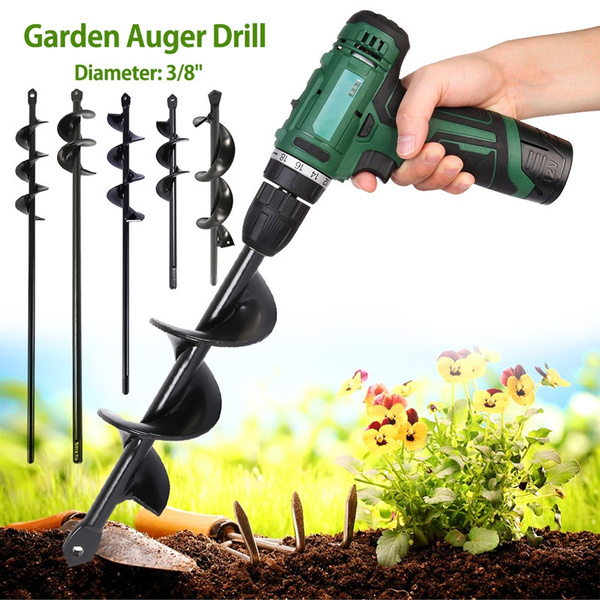 plantingdrill, Flowers, drillhead, Garden