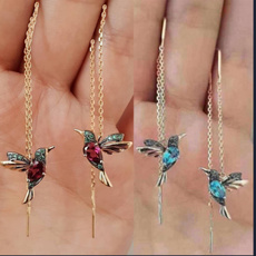 Dangle Earring, Romantic, Classics, birdlongearring
