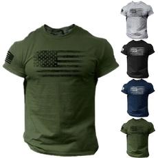 Mens T Shirt, Printed T Shirts, Shirt, usaflagtshirt