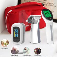 nebulizermachine, thermometergun, Family, bloodoxygensaturationmonitor