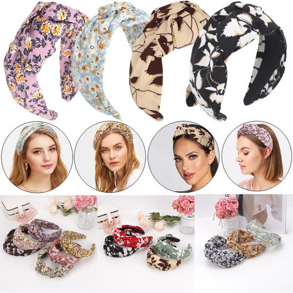 hair, Head Bands, Floral print, Cross
