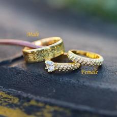 Couple Rings, wedding ring, titanium, ringset