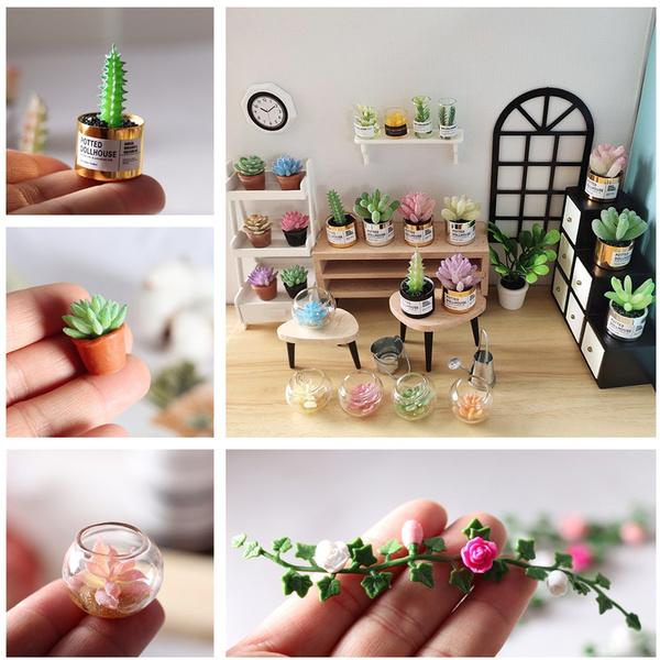 Mini, minisucculent, Flowers, dockhu