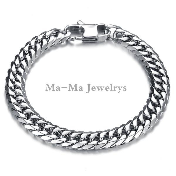 Steel, Jewelry, Chain, stainlesssteelbracelet