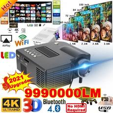 Mini, led, projectorscreen120inch, Hdmi