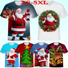 Mens T Shirt, Fashion, Christmas, Sleeve