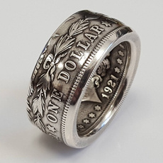 Antique, ringsformen, Jewelry, Silver Ring