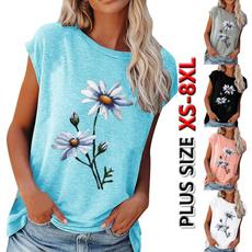 blouse, flowersshirt, Plus Size, tunic