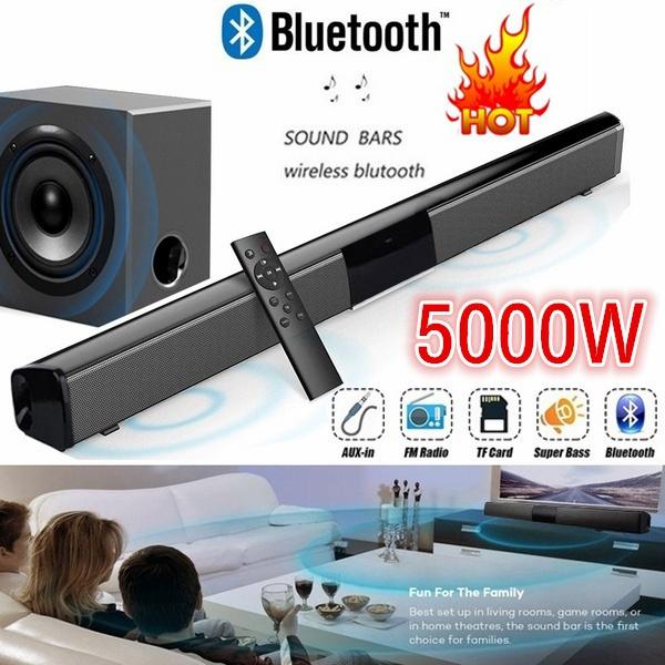 Remote, Bass, soundbar, bluetooth speaker